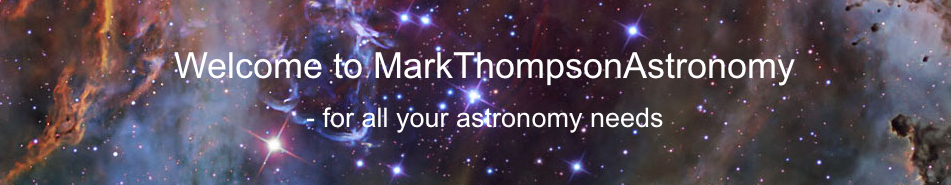 Mark Thompson Astronomy